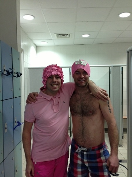 Sponsored Swim 2013 - Damon & Craig